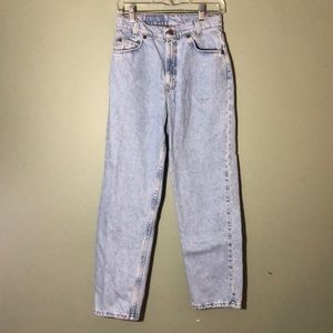 Vintage Orange Tab Levi's 550 Relaxed Fit Student